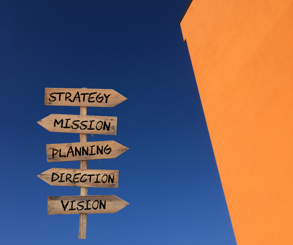 Successful strategy is based on mission and vision